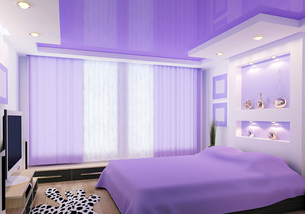 Unsere Stilvollen Spanndecken Passen Garantiert Auch In Ihr Schlafzimmer,  Denn Sie Runden Einen Raum, In Dem Man Sich Wohlfühlt, Mit Dem Nötigen  Sanften ...